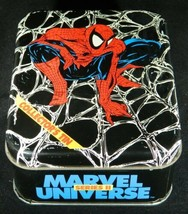 Marvel Universe Series II Trading Cards Collector's Tin Open w/ Sealed Set 1991 - $217.69