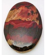 Indian Paint Stone Rhyolite Cabochon 94 - $7.90