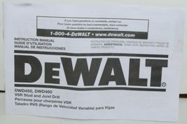 DeWALT DWD450 13 mm VSR Stud Joist Drill with Clutch 11 Amps CORDED image 5