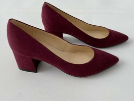 Nine West Pointed Toe Shoes Maroon ( 7 ) - $71.69