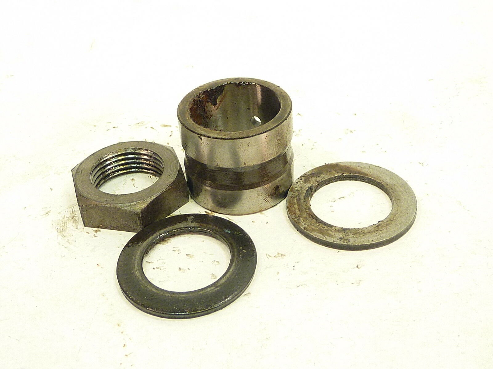 Honda TRX250 TRX 250 Four Trax 1985 85 front spindle frame axle nuts washers