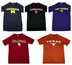 NCAA Men's Tee Shirt Training Day Performance T-Shirt Short Sleeve College NEW
