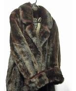 Dennis Basso Sz S Faux Fur Full Length Starlet M Coat(5A4B102) - $118.79