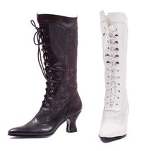Ellie Shoes Women's Rebecca Adult Boots 6 White - $43.72