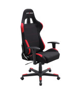 DXRacer OH/FD01/NR High-Back Computer Chair Strong Mesh Guest Chair (Bla... - $289.00