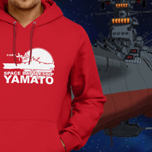 Anime Space Battleship Yamato Star Blazers Pullover Hoodie Jacket Hooded Sweater - $25.58+