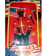 Fireman (AA) - Action Figure America's Bravest - Fire Rescue - $17.50