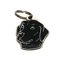 Pet ID tag (dog ID tag), engraved Labrador retr... - $16.90