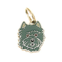 MJAVHOV Pet tag CAIRN TERRIER, engraved - $17.90