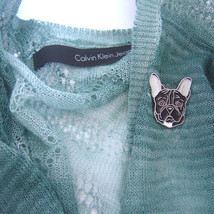 Brooch FRENCH BULLDOG - $19.20
