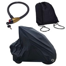 Cape Waterproof Motorcycle Cover with Heavy Duty Lock and Waterproof Bag - Unive
