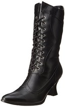 Ellie Shoes Women's 253 Amelia Slouch Boot, Black Polyurethane, 6 M US - $45.30