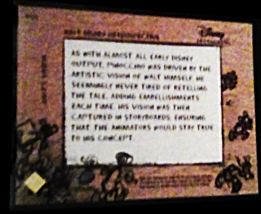 2003 Disney Walt Disney Retropective Treasures card number WD4 image 2