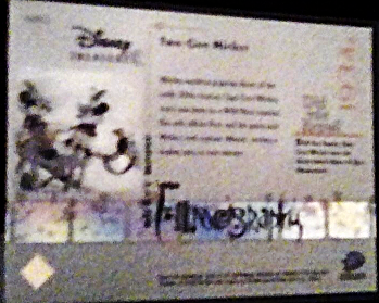 2003 Disney Mickey mouse Filmography Walt Disney Treasures card number mm12