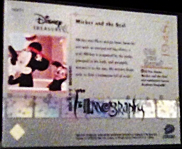 2003 Disney Mickey mouse Filmography Walt Disney Treasures card number mm39 image 2