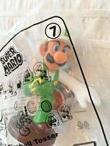 LUIGI Fireball Tosser -Super MARIO McDonalds Happy Meal Toy-Brand New 2018 - $4.90