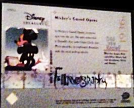 2003 Disney Mickey mouse Filmography Walt Disney Treasures card number mm16 image 2