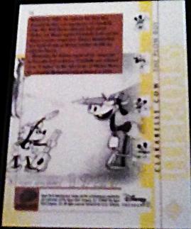 2003 Disney Treasures Heroes Clarabelle Walt Disney card number 14 Upper Deck