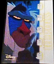 2003 Disney Treasures Heroes Rafiki Walt Disney card number 64 Upper Deck - $3.75