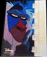 2003 Disney Treasures Heroes Rafiki Walt Disney card number 64 Upper Deck - $3.75