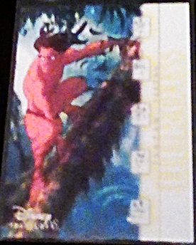 2003 Disney Treasures Heroes Tarzan Walt Disney card number 77 Upper Deck