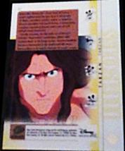2003 Disney Treasures Heroes Tarzan Walt Disney card number 77 Upper Deck image 2