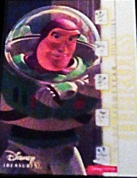 2003 Disney Treasures Heroes Buzz Lightyear Walt Disney card number 9 Upper Deck