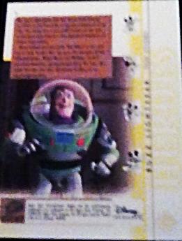 2003 Disney Treasures Heroes Buzz Lightyear Walt Disney card number 9 Upper Deck image 2