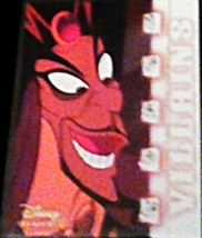 2003 Disney Treasures villains Jafar Walt Disney card number 34 Upper Deck  - $3.75