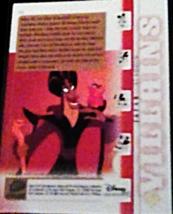 2003 Disney Treasures villains Jafar Walt Disney card number 34 Upper Deck  image 2