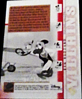2003 Disney Treasures villains Ben Buzzard Walt Disney card number 5 Upper Deck