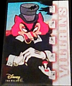 2003 Disney Treasures villains J. Worthington Walt Disney card 32 Upper Deck