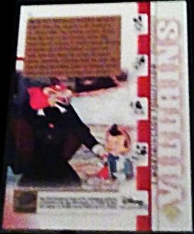 2003 Disney Treasures villains J. Worthington Walt Disney card 32 Upper Deck   image 2