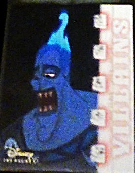 2003 Disney Treasures villains Hades card number 25 Walt Disney Upper Deck
