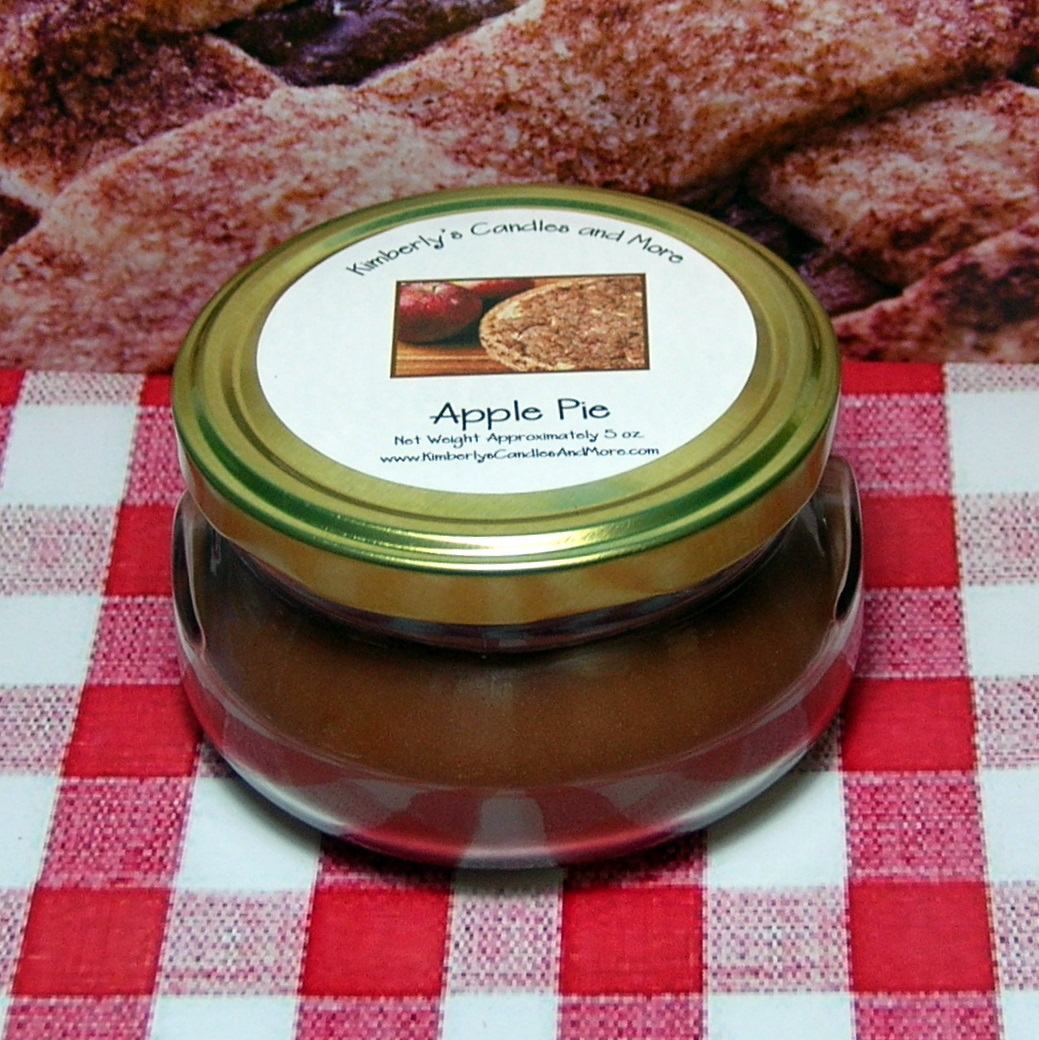 Apple Pie 6 oz. Tureen Jar Wickless Candle