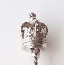 Collector Souvenir Spoon Royal Crown of London 3D Figural Ornate Bowl - $14.99