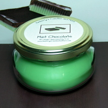 Mint Chocolate 6 oz. Tureen Jar Wickless Candle - $6.00