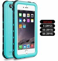iPhone 5 5S SE Waterproof Case by Zimu Joy
