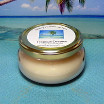 Tropical Dreams 6 oz. Tureen Jar Wickless Candle - $6.00