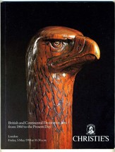 Christies Auction Catalog London 1995 British & Continental Decorative A... - $34.61