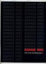 Ramada Inns Riverside California Packet Menu Stationery & Envelopes 1966 - $24.75
