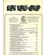 The Velvet Turtle Restaurant New Year's Eve  Dinner  Menu 1978 - $27.72
