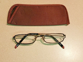 Foster Grant M129A1-200.MVG +200 TP0607 Aztec Reader Glasses w/Fabric Case - $14.80
