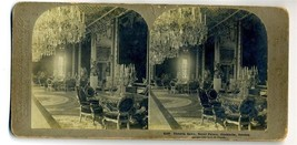 Victoria Salon Royal Palace Stockholm Sweden  Stereoview 1900 - $24.72