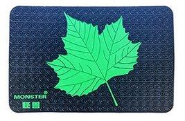 Universal Car Dashboard Non-slip Mat Car Non-slip Mats GREEN Maple Leaves