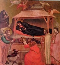 The Epiphany (MINI PRINT) By Giotto - $45.00