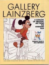 Gallery Lainzberg Catalog Original Art Animated Films Donald Ducks 50th ... - $39.60