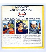 ESSO Map of Discovery & Exploration Map 1000 A. D. to the Space Age - $21.75