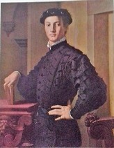 Portrait of a Young Man (MINI PRINT) By Bronzino - $45.00