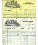 1940 Hotel Traymore Atlantic City New Jersey Hotel & Garage Statements - $44.11